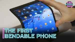 The First Bendable Phone On The Market | CES 2019 [Video]