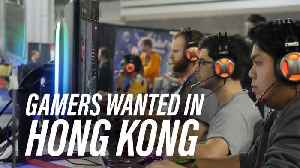 Hong Kong wants its youth to become pro gamers [Video]