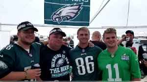 Green Legion Gearing Up For Trip To New Orleans For Eagles Playoff Game [Video]