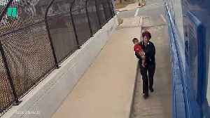 Bus Driver Finds Baby Alone In The Cold [Video]