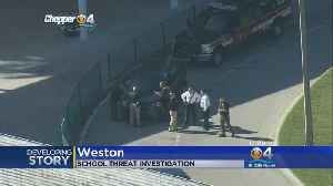 News video: Shooting Threat Made Against Cypress Bay High In Weston