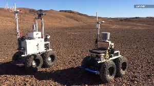 New Self-Driving Rovers Tested for Mars in Morocco Desert [Video]