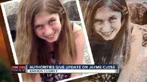 Barron County officials believe suspect planned Jayme Closs' abduction [Video]