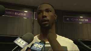 Harry Giles III Talks About Kings 112-102 Win Over Pistons [Video]