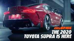 The 2020 Toyota Supra is Here [Video]
