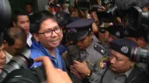 News video: Court ruling means full sentences to be served by Reuters journalists in Myanmar