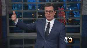 Stephen Colbert To Host Special Live Broadcast On Jan. 29