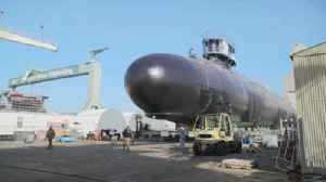 News video: Time-lapse: Submarine Delaware Moving