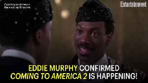 News video: Coming to America 2 is 'Officially Moving Forward' With Eddie Murphy