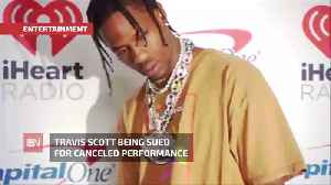 News video: Travis Scott Sued For Canceled Performance: His Lawyer denies It Entirely