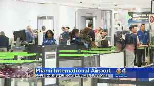 Terminal At Miami Airport Closed [Video]