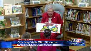 Gov. Ivey Visits With Students [Video]