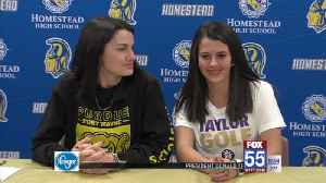 Rybolt, Behrens Sign to Continue Golf Careers [Video]
