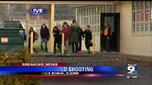 Students reunite with parents after shooting outside Cascade Middle School [Video]