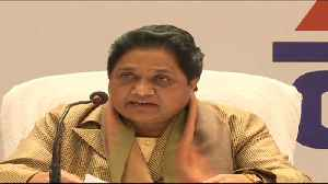News video: Public angry with Modi government's governance model: Mayawati