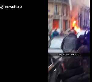 News video: Aftermath of massive explosion in Paris