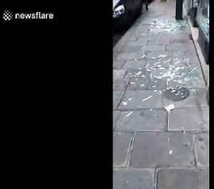 News video: New footage shows dramatic aftermath of deadly Paris bakery blast