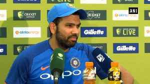 News video: India vs Australia: Got to give respect to Australian bowlers, says Rohit Sharma