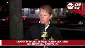 15-year-old killed after being hit by undercover HCSO deputy in traffic accident [Video]