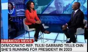 Democrat Tulsi Gabbard running for president in 2020 [Video]