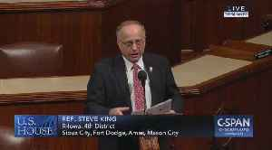 Steve King rebuts allegations part 2 [Video]