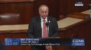Steve King rebuts allegations that he's a white supremacist [Video]