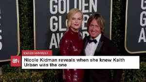 Nicole Kidman Reveals Personal Details Of Love With Keith Urban [Video]
