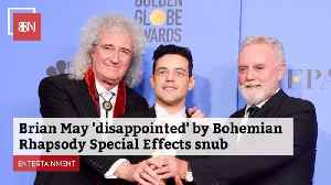 Queen's Brian May Thought Bohemian Rhapsody Deserved More Awards [Video]