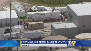 Last Migrant Teens Leave Tent City [Video]