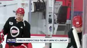 Mike Green returns to Red Wings lineup [Video]