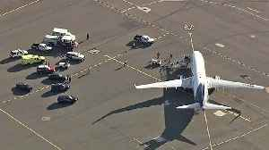 Airport, Airline Play Blame Game Over Aeromexico Flight Held on Oakland Tarmac [Video]