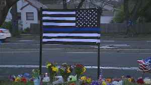 Community In Davis Gathers To Mourn Fallen Officer [Video]
