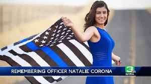 Natalie Corona: Davis officer remembered for her integrity [Video]
