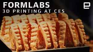 Formlabs at CES: 3D Printing Zombies and False Teeth [Video]