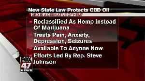 New state law protects CBD oil [Video]