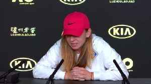 Top seed Halep rested and relaxed heading into Australian Open [Video]