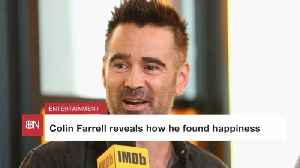 Colin Farrell Has Found The Secret To Happiness For Him [Video]