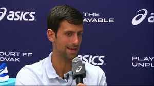 News video: Novak Djokovic shocked at Andy Murray's retirement plans