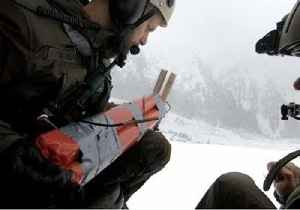 News video: Austrian Army Drops Charges to Trigger Controlled Avalanches