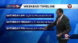 First Alert: More snow to come [Video]