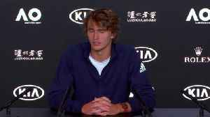 Zverev searching for Grand Slam 'mentality' in Melbourne [Video]
