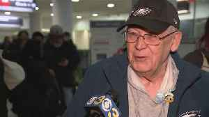 Eagles Fans Ready To Book Trip To NFC Championship [Video]