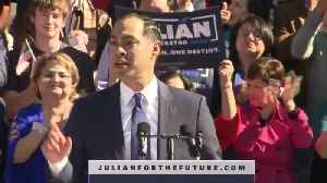 Democrat Julian Castro launches 2020 presidential bid [Video]
