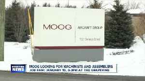 Moog looking for machinists and assemblers [Video]