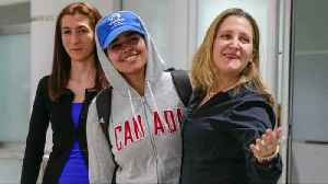 Saudi teen granted asylum arrives in Canada [Video]