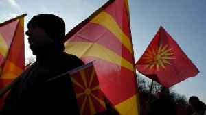 News video: Macedonian Parliament Approves Name Change