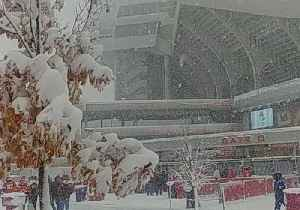 Snowstorm Blankets Kansas City Chiefs' Stadium Ahead of Game [Video]