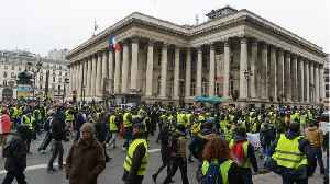 News video: Renewed Yellow Vest Protests Hit With Police Water Cannon, Tear Gas In Paris