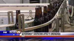 Government shut down affecting local breweries [Video]