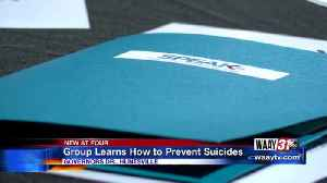 Group learns how to prevent suicides [Video]